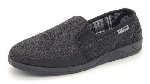 Dunlop - DMH7883 Black Slippers